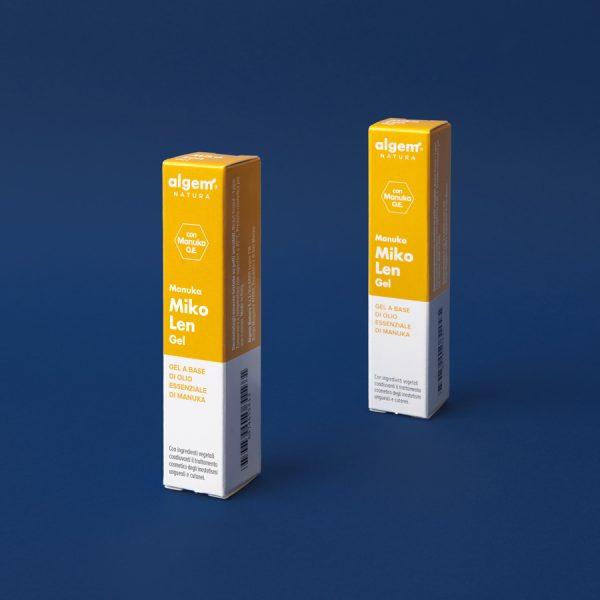 Manuka Miko Len Gel è un gel, a base di olio essenziale di manuka e degli altri componenti dalle note qualità lenitive, ideale nel trattamento cosmetico dei fastidi e degli inestetismi provocati da irritazioni e micosi ungueali/cutanee. Ideale per chi frequenta palestre e piscine.
