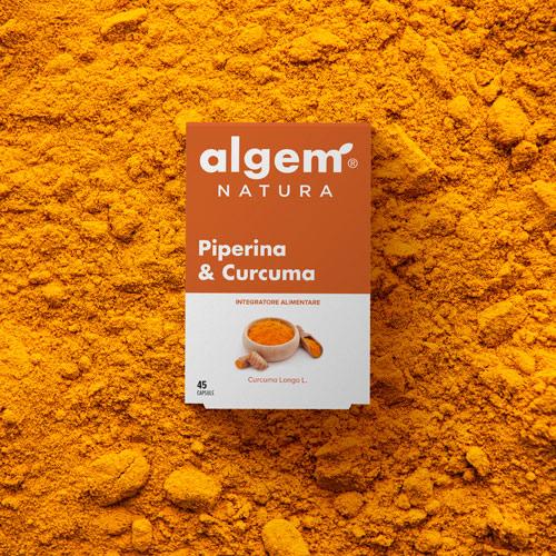 Piperina & Curcuma di Algem Natura è un integratore alimentare a base di estratti secchi di Pepe Lungo e Curcuma che svolge un'azione antiossidante e tonica sul metabolismo.