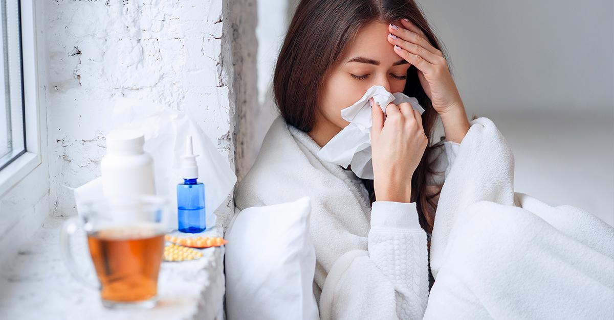 Malessere derivante da sintomi influenzali